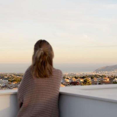 Chalets adosados con vistas al mar y montaña