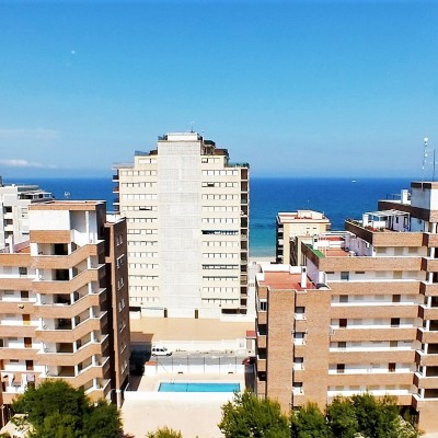 Apartamento en tercera línea de playa en Arenales del Sol