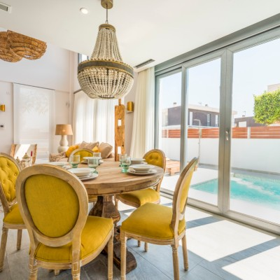 Villa independiente con acabados de lujo en Gran Alacant